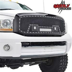 REDUCED !!! NEW GRIZZLY GRILLES!!! AVAILABLE FOR ALL TRUCKS !!! LOWEST PRICES NATIONWIDE