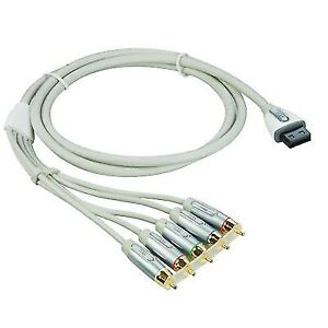 6-Feet Audio Video ED Component Cable for Wii   xxxx