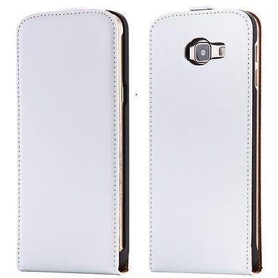 Samsung Galaxy A5 2016 A510 - Housse Etui de protection à Clapet Blanc - Phonit