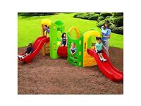 Little tikes 8 in 1 X2 (joined together) outside play set