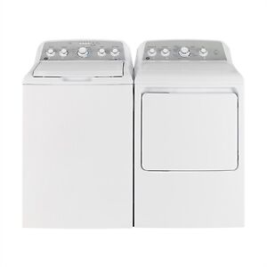 Top Load GE Washers or Dryers For Sale White