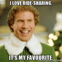 Parking cost sharing-Ride from Little Italy to Place du Portage