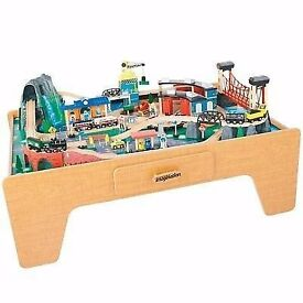 brand new train table with accessory no offers