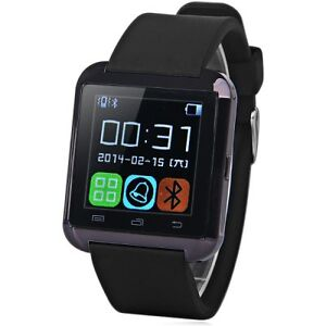 U8S Smart Bluetooth 3.0 Watch Outdoor Sports Smartwatch   -  BLA