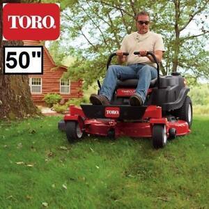 "USED* TORO 50"" ZERO TURN RIDE MOWER - 133730863 - TIMECUTTER 24.5 HP 708CC RIDING MOWERS SMART SPEED GRASS CUTTING LA..."