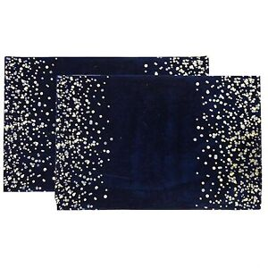 Brand new navy blue placemats set of 4 and table runner