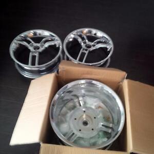 Mag roue  spyder RS-S / RS / GS  chrome