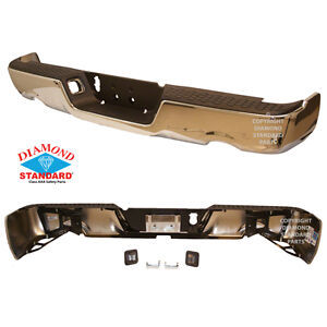 NEW 2009-2017 DODGE RAM REAR CHROME BUMPER ASSEMBLY London Ontario image 7