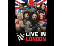 WWE LIVE IN LONDON WRESTLING TICKETS O2 ARENA
