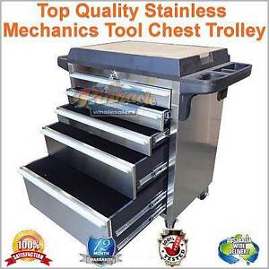 STAINLESS TOOL BOX, TOOLBOX TROLLEY, TOOL CHEST CABINET, WORK CAR Ballarat Central Ballarat City Preview