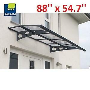 NEW PALRAM AWNING 88 x 54.7 703370 250263298 HERALD GREY CLEAR