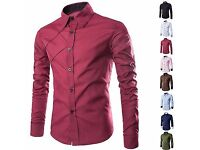 Brand new mens t/shirt size small colour burgundy