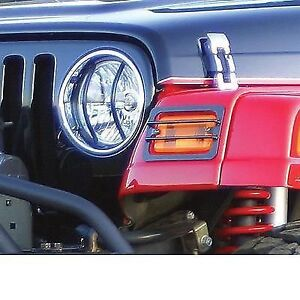 Rampage Headlight Guard 97-06 Wrangler TJ (RM5660)