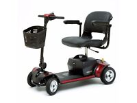 Pride Go Go Elite Traveller Plus 4 Brand New Boxed NO VAT Boot Scooter Private Sale with receipt