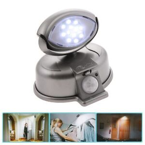 Wireless 12 LED Motion Sensor Light Safety Entry Way