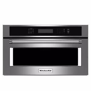 Micro-ondes encastrable KitchenAid 30 po, Convection, Showroom