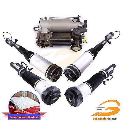 W220 vorne +hinten Luftfederung+Kompressor