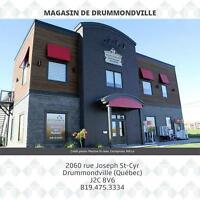 COMMIS BUREAU & ENTREPÔT 1 À Drummondville et 1 À Trois-Rivières