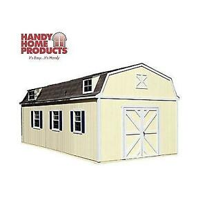 NEW* 12' x 24' STORAGE BUILDING 18209-9 214784353 WITH FLOOR HANDY HOME SEQUOIA