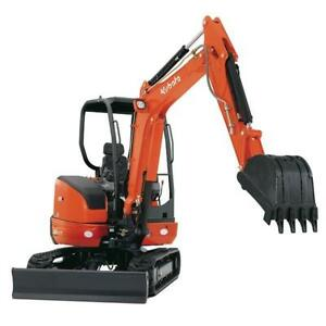 Mini Excavator and Bobcat Rentals - FREE DELIVERY and PICK UP !!!