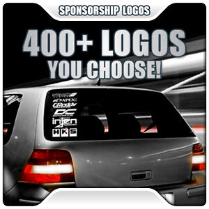 6-SPONSOR-LOGOS-KIT-CAR-AUTO-VEHICLE-WINDOW-BUMPER-VINYL-GRAPHIC-STICKERS-DECALS