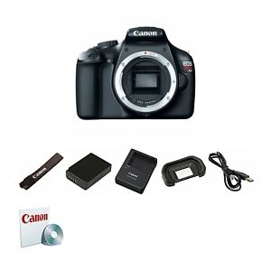 USA Model Canon EOS Rebel T3 1100D 12.2 MP CMOS Digital SLR Camera Body 5157B002
