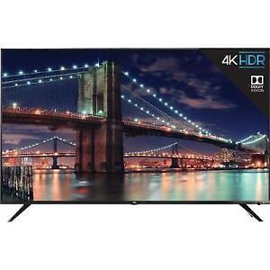 "TCL 55"" 4K Ultra HD Dolby Vision HDR Roku Smart TV 2018 Model - 55R617"