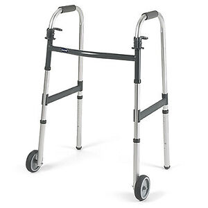 Invacare DUAL-RELEASE PADDLE FOLDING WALKER