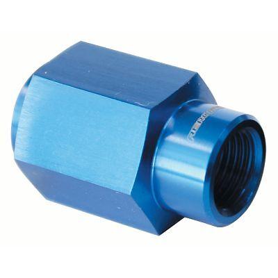 Aeroflow Fuel Pressure Gauge Adapter Holden Commodore LS1 LS2 engines Blue