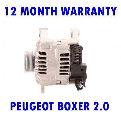 PEUGEOT BOXER 2.0 2.5 1994 1995 1996 1997 - 2002 ALTERNATOR