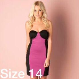 Bodycon dress by rare Bnwt rrp £50