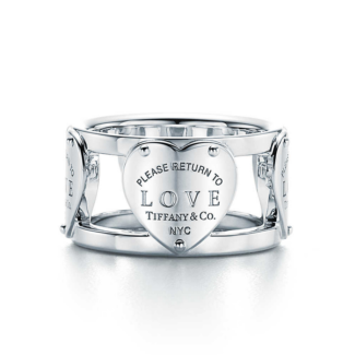 Tiffany&Co LOVE WIDE RING