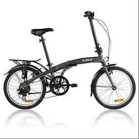 B'Fold 7 folding bike as new