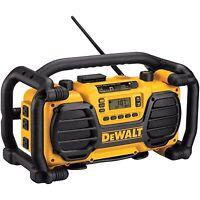 Dewalt radio and charger