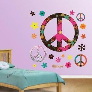 New, Fathead Wall Decal, Peace Signs *PickupOnly DI21