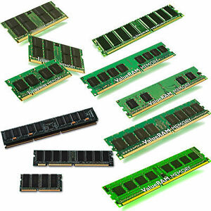 Laptop & Desktop Memory (RAM) for Upgrade