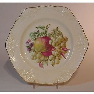 Vintage Embossed English Fruit Plates Kingston Kingston Area image 2