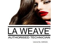 LA WEAVE & BRAIDED WEFT EXTENSIONS - MOBILE SERVICE - MESSAGE TO BOOK IN x