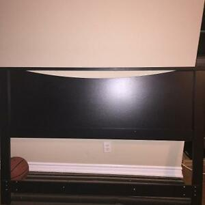 Black Queen Head Board-Less than a year old