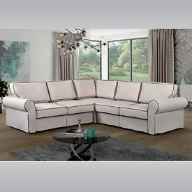 🍁🍁CLEARANCE STOCK MUST GO🍁🍁NEW STYLISH DESIGN LARGE CORNER SOFA BED🍁🍁AVAILABLE IN STOCK🍁🍁