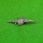 Silver RAF Badge