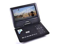 "HSN 9.8"" TFT Portable DVD EVD CD Player MP3 MP4 GAME SD USB Slots"