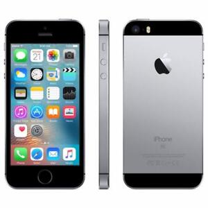 iPhone SE 16GB Space Grey Fido MINT 10/10 /w APPLE WARRANTY until January 12, 2018 $260 FIRM