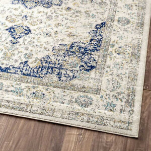 Verona Blue Area Rug by nuLOOM Brand New reg. $603 7x9