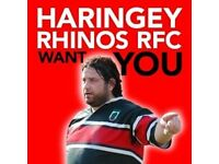 Trying to Fill the Void After the Euros Thought about giving Rugby a TRY! Haringey Rhino's want you!