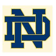 Notre Dame Iron on Patches