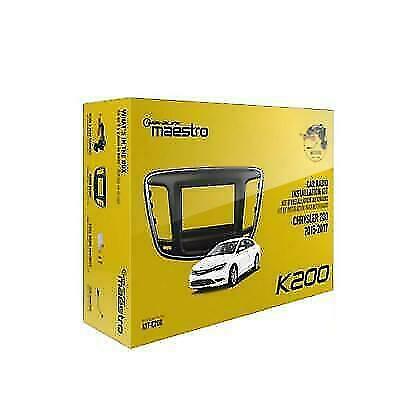 iDatalink Maestro K200 Radio Installation Dash Kit for 2015-2018 Chrysler 200