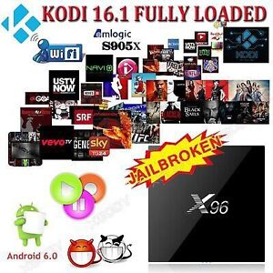 2016 X96 ANDROID TV BOX...ANDROID 6.0..LATEST VERSION