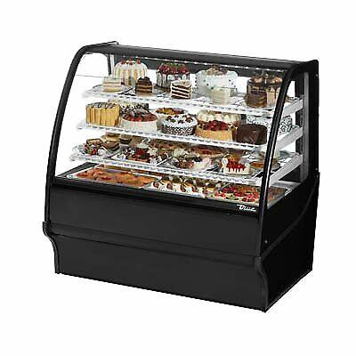 True Tdm-r-48-gege-b-w 48 Refrigerated Bakery Display Case