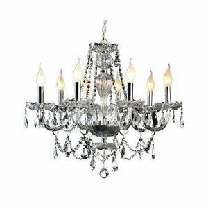 Gen-Lite 104993 Venetian 25.5 In.dia 8 Light Chandelier Crystal Kitchener / Waterloo Kitchener Area image 2